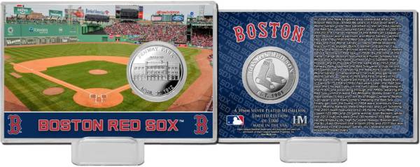Highland Mint Boston Red Sox Silver Coin Card product image
