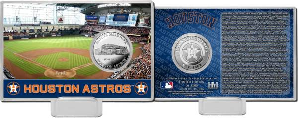 Highland Mint Houston Astros Silver Coin Card product image