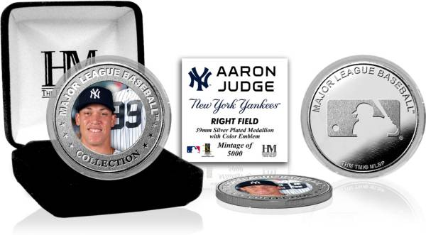 Highland Mint New York Yankees Aaron Judge Silver Color Coin product image