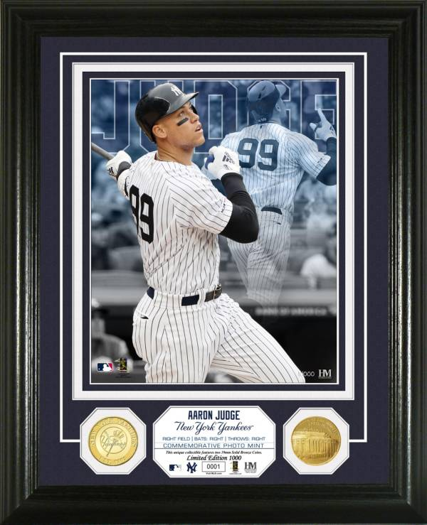 """Highland Mint New York Yankees Aaron Judge """"Elite Series"""" Minted Coin Photo Mint product image"""