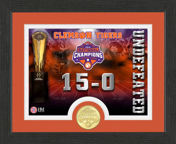 Highland Mint 2018 National Champions Clemson Tigers Undefeated Coin product image