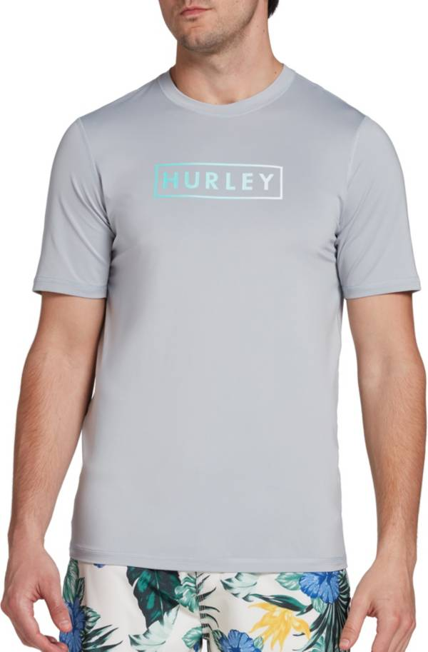 Hurley Men's Boxed Gradient Short Sleeve Rash Guard product image