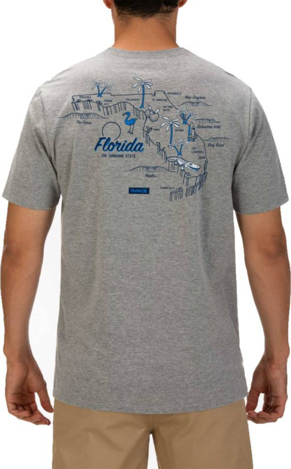 Hurley Men's Florida 3D Mapstee T-Shirt product image