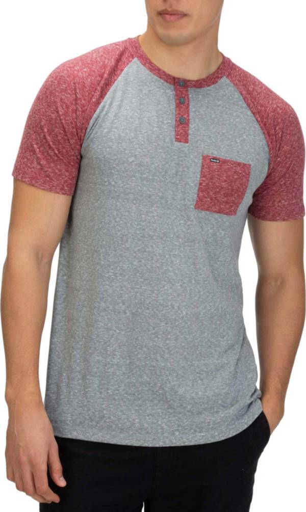 Hurley Men's Lido Raglan Henley T-Shirt product image