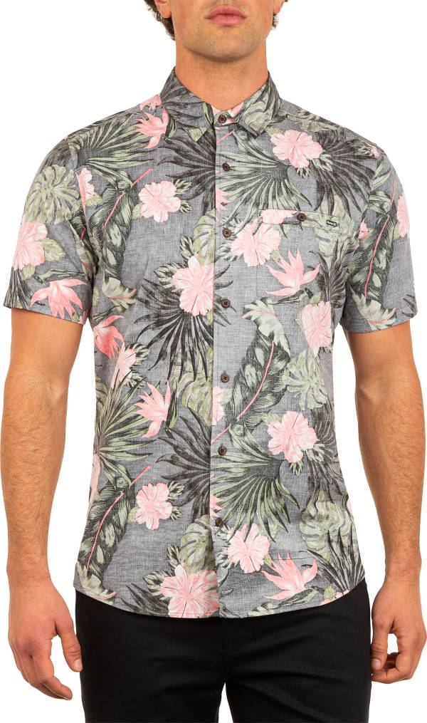 Hurley Men's Lanai Stretch Reverse Woven Short Sleeve Shirt product image