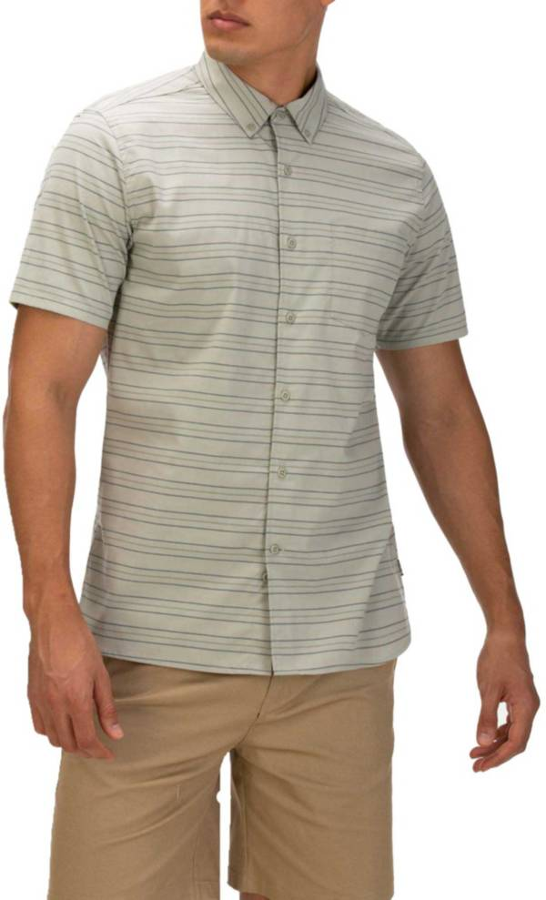 Hurley Men's Dri-FIT Staycay Button Down Short Sleeve Shirt product image