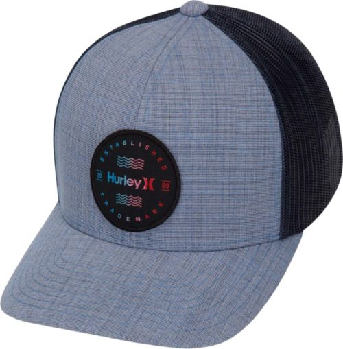 7f060a13ed291 Hurley Men s Trademark Trucker Hat