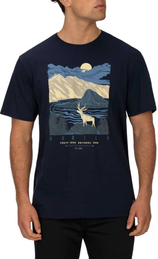 Hurley Men's Pendleton Crater Lake Short Sleeve T-Shirt product image