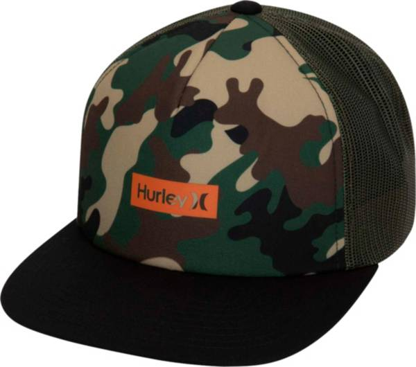 Hurley Men's Printed Square Trucker Hat product image