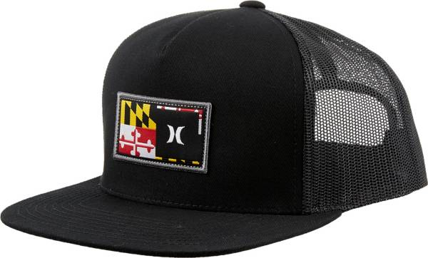 Hurley Men's Maryland Destination Flat Trucker Hat product image