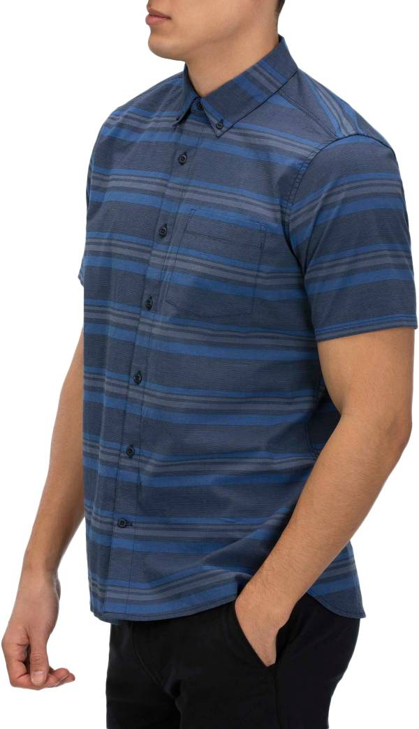 Hurley Men's Outlaw Stretch Short Sleeve Button Down Shirt product image