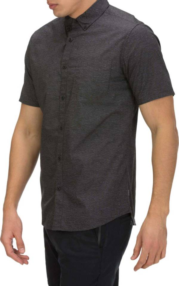 Hurley Men's Sleepy Hollow Short Sleeve Woven Button Up Shirt product image