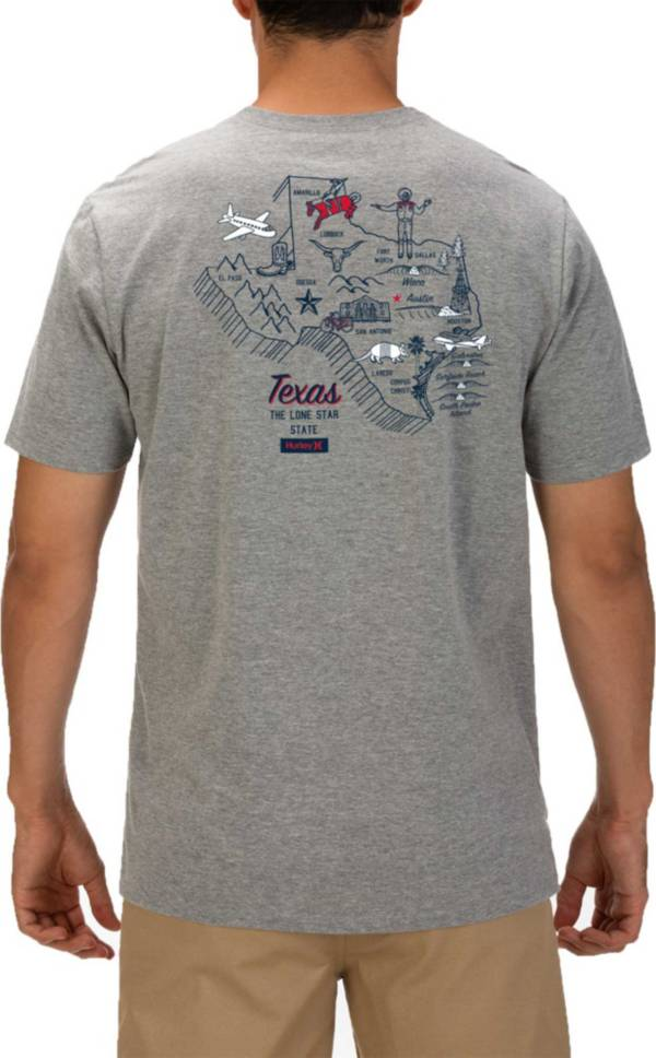 Hurley Men's Texas 3D Mapstee T-Shirt product image