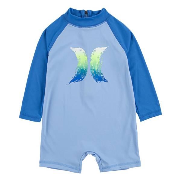 Hurley Infant Lil Shark Long Sleeve Romper product image