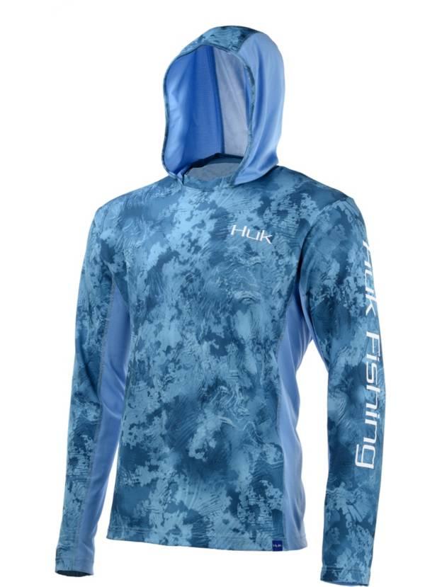 Huk Icon X Camo Long Sleeve Hooded Fishing Shirt product image
