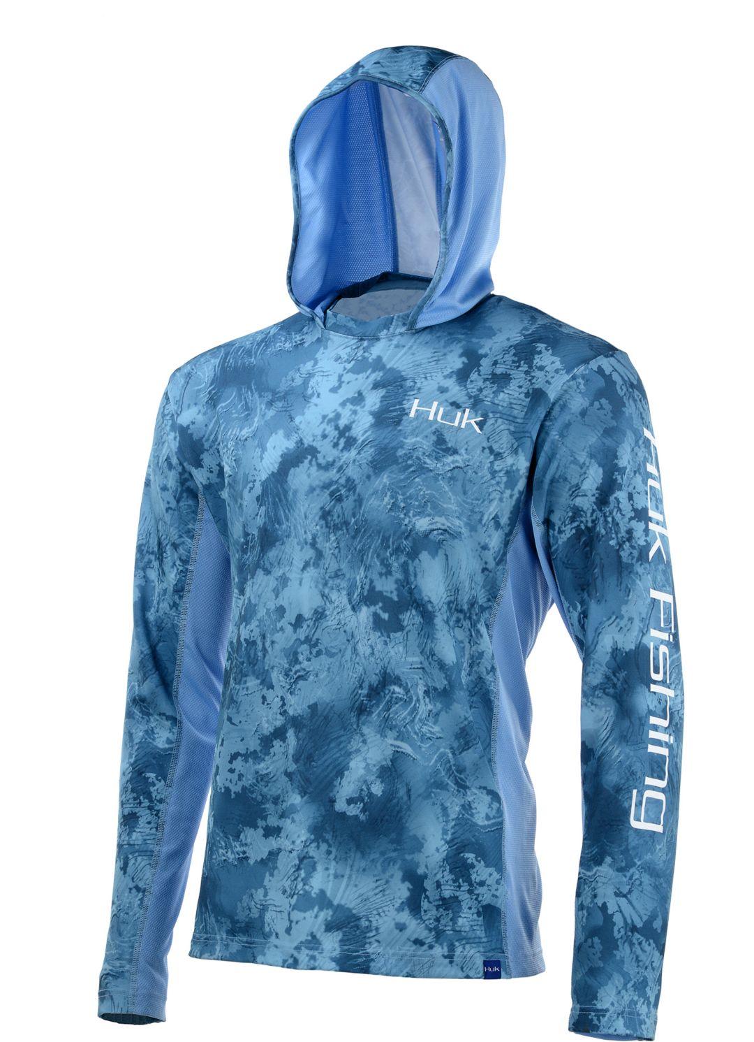 63275204 Huk Icon X Camo Long Sleeve Hooded Fishing Shirt. noImageFound. Previous