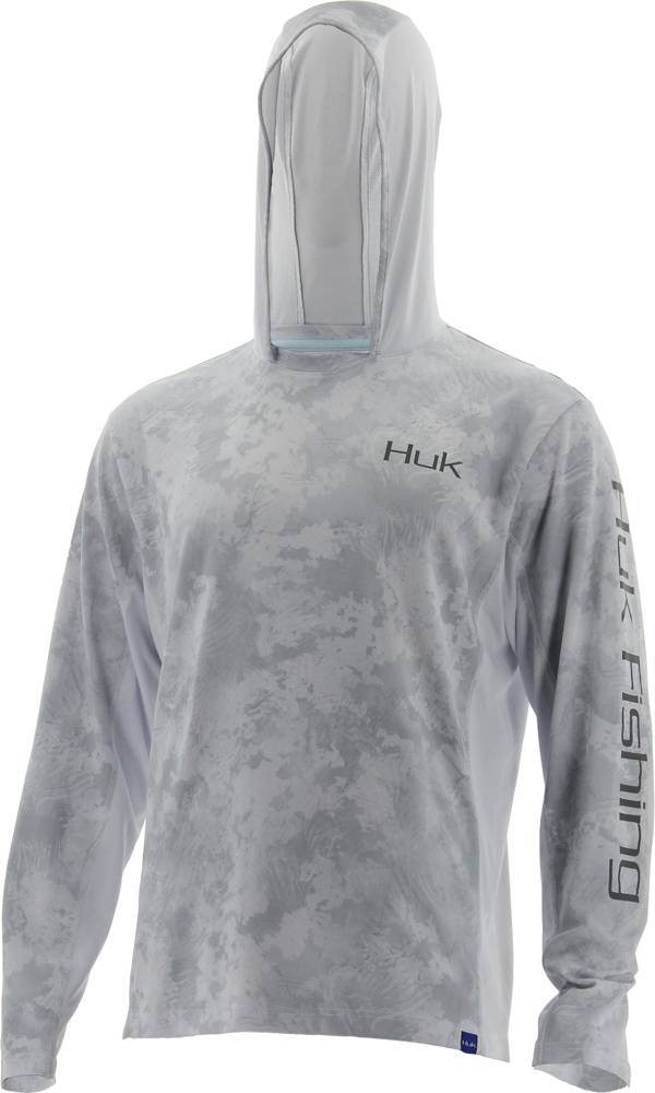 Huk Icon X Camo Long Sleeve Hooded Fishing Shirt (Regular and Big & Tall) product image