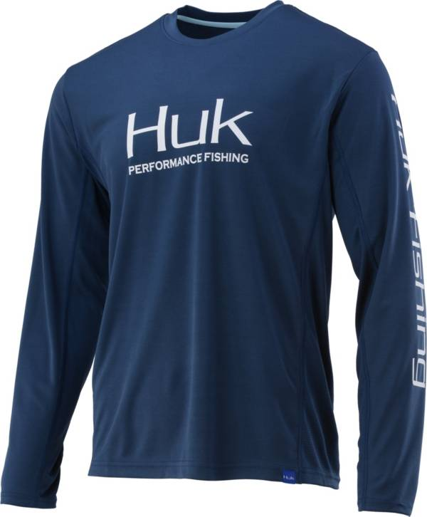 HUK Men's Icon X Performance Fishing Long Sleeve Shirt product image