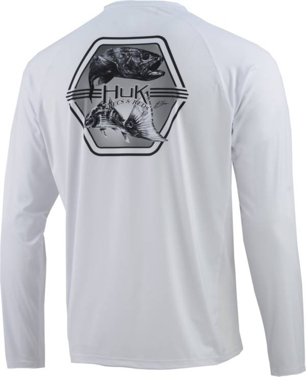 Huk Men's Pursuit Atlantic Fresh Long Sleeve Performance Shirt product image