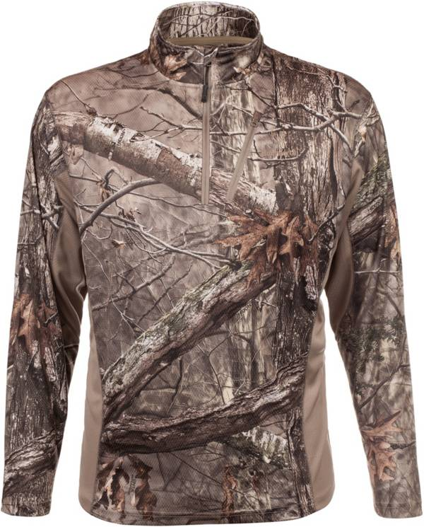 Huntworth Men's Lightweight ¼ Zip Hunting Pullover product image