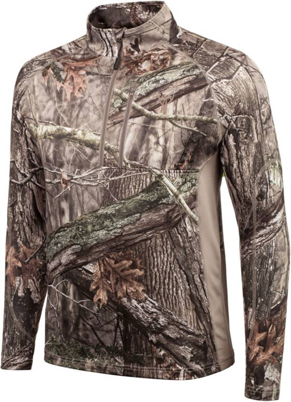 Huntworth Men's Mid Weight ¼ Zip Hunting Pullover product image