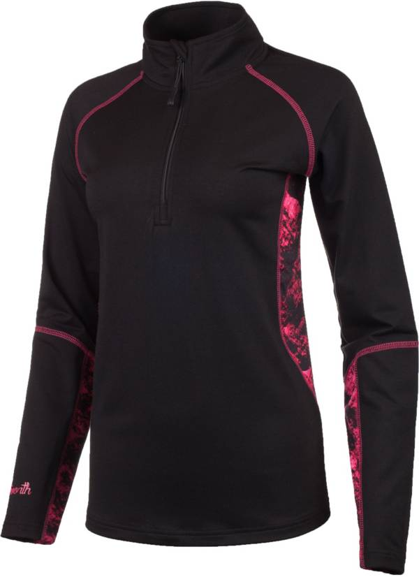 Huntworth Women's Terry Knit 1/4 Zip product image
