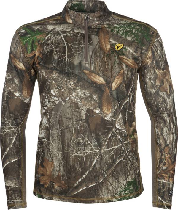 Blocker Outdoors Men's Shield Series Angatec 1/4 Zip Performance Tee product image