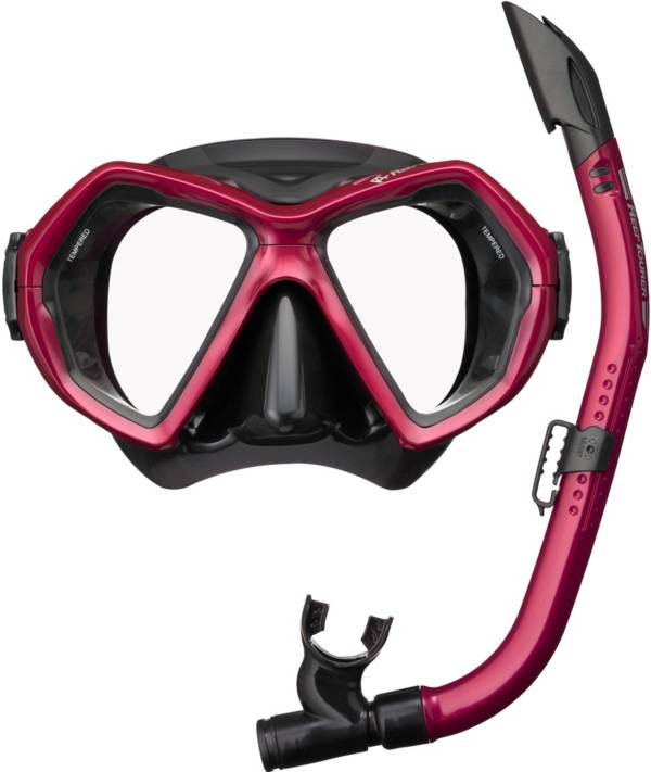 Reef Tourer Adult X-Plore 2-Window Mask & Snorkel Combo product image