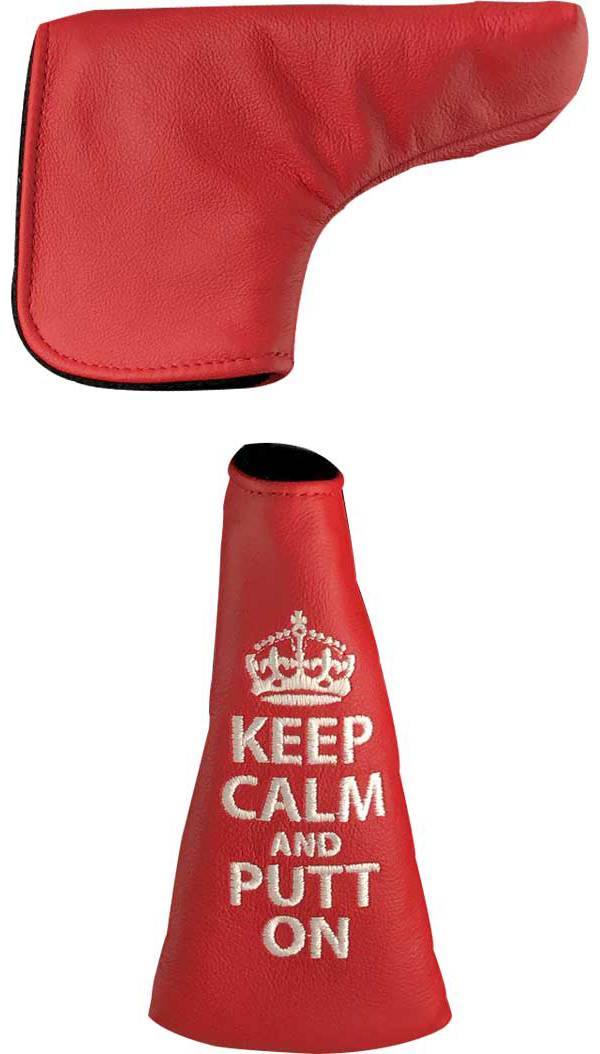 Dormie Workshop Keep Calm and Hit Bombs Blade Putter Headcover product image