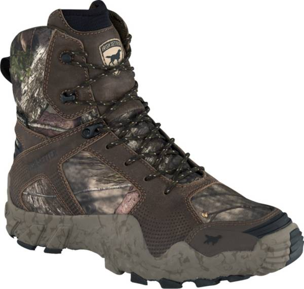 Irish Setter Men's VaprTrek 8'' Mossy Oak 400g Waterproof Hunting Boots product image