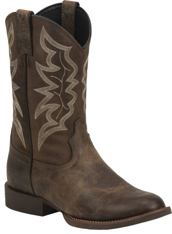 Justin Men's Buster Distressed Western Boots product image