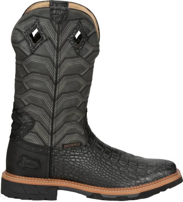 Justin Men's Derrickman Waterproof Western Work Boots product image