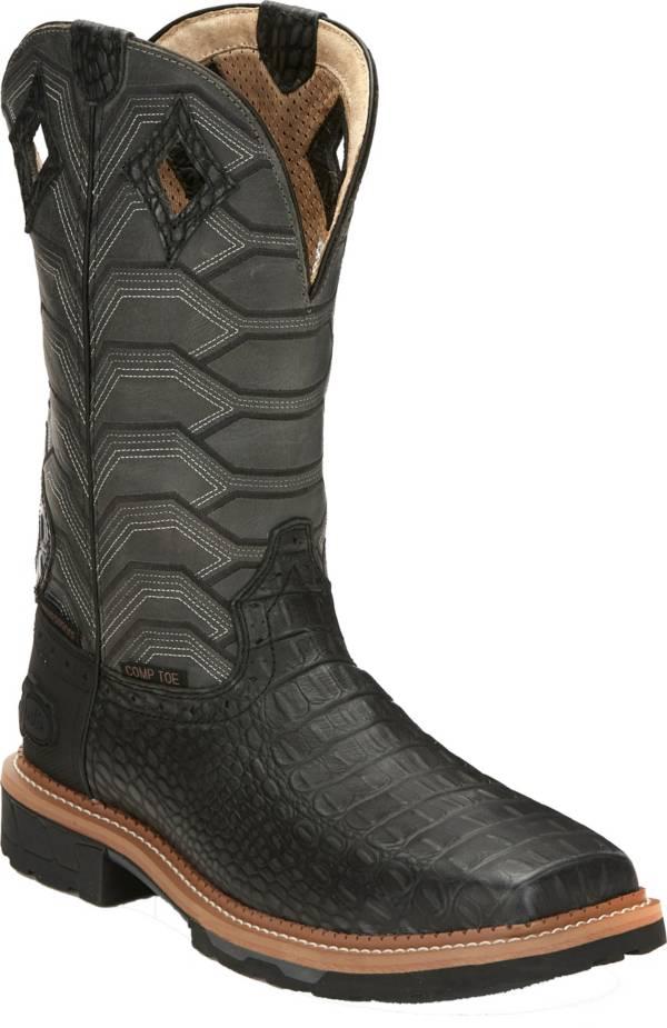 Justin Men's Derrickman Waterproof Composite Toe Western Work Boots product image