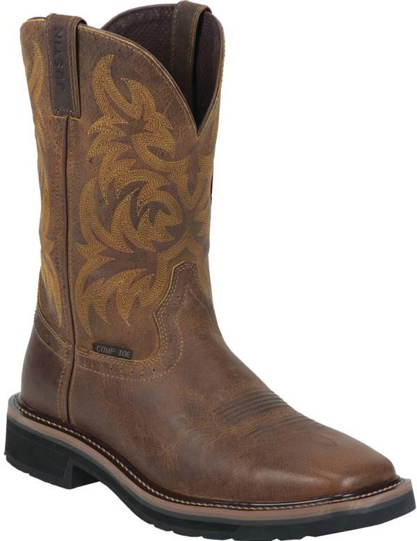Justin Men's Handler Composite Toe Western Work Boots product image
