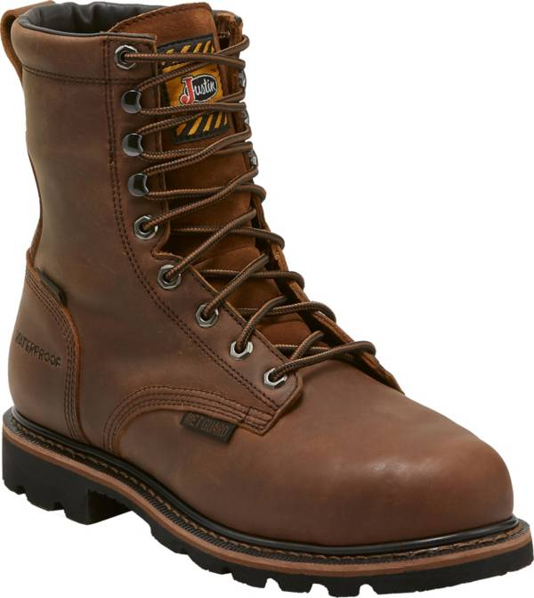 Justin Men's Pulley MetGuard Composite Toe EH Work Boots product image