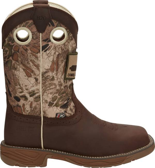 Justin Men's Stampede Rush Steel Toe Western Work Boots product image