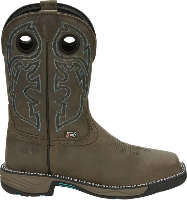 Justin Men's Stampede Rush Waterproof Steel Toe Western Work Boots product image