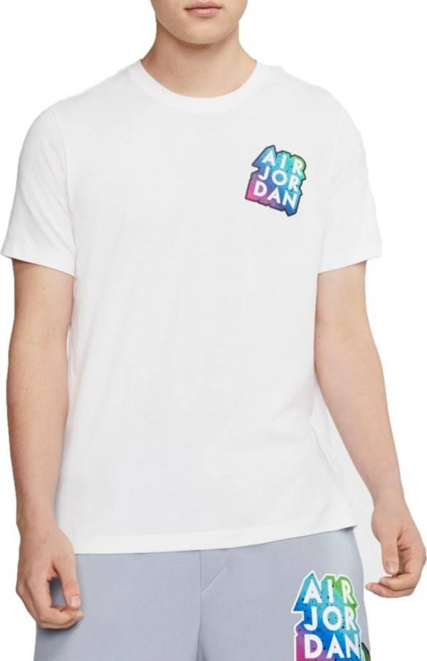 Nike Jordan Men's Sticker Short Sleeve T-Shirt product image