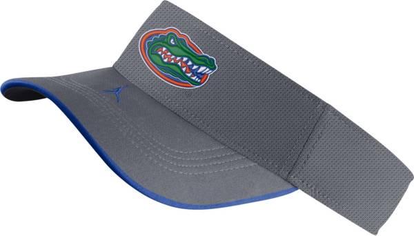 Jordan Men's Florida Gators Grey Aero Football Sideline Visor product image