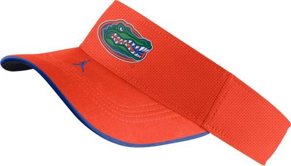 Jordan Men's Florida Gators Orange Aero Football Sideline Visor product image