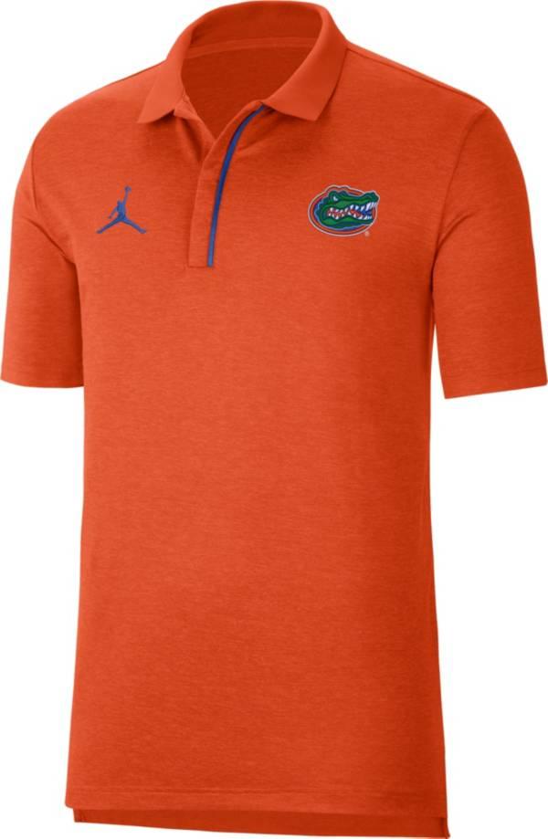 Jordan Men's Florida Gators Orange Sideline Performance Polo product image