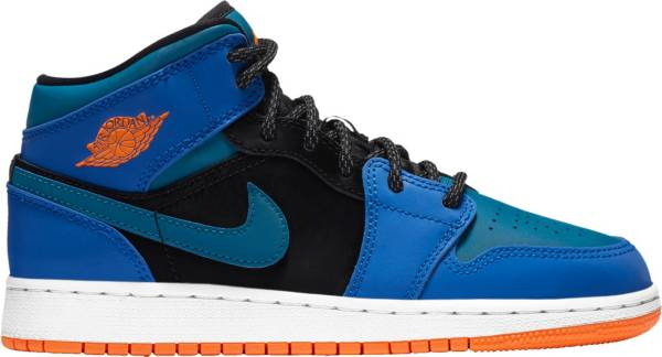 Jordan Kids' Grade School Jordan 1 Mid Basketball Shoes product image