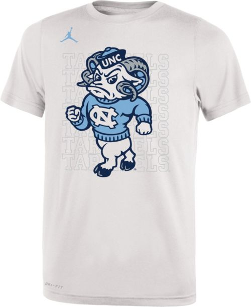 c7e2b675e85 Jordan Youth North Carolina Tar Heels Bench White T-Shirt. noImageFound. 1