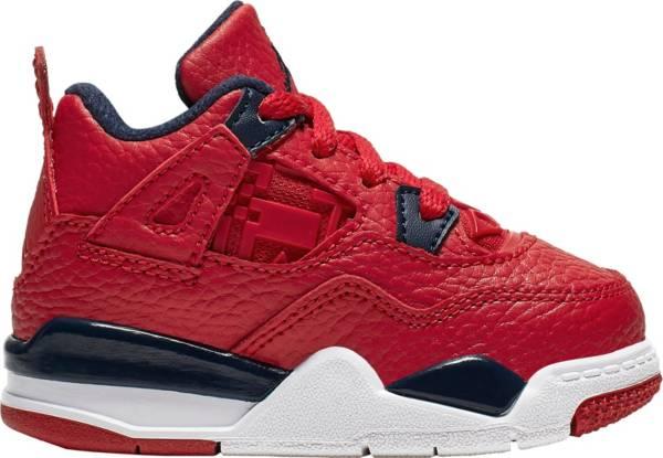 Jordan Toddler Air Jordan 4 Retro Basketball Shoes product image