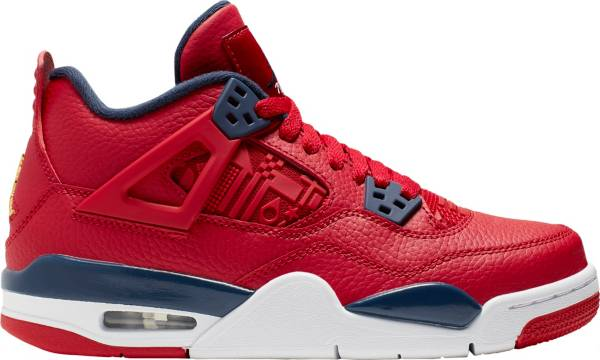 Jordan Kids' Grade School Air Jordan 4 Retro Basketball Shoes product image