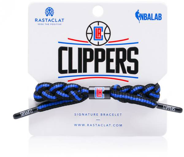 Rastaclat Los Angeles Clippers Home Braided Bracelet product image