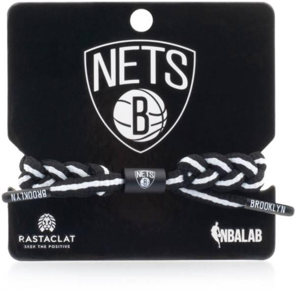 Rastaclat Brooklyn Nets Home Braided Bracelet product image