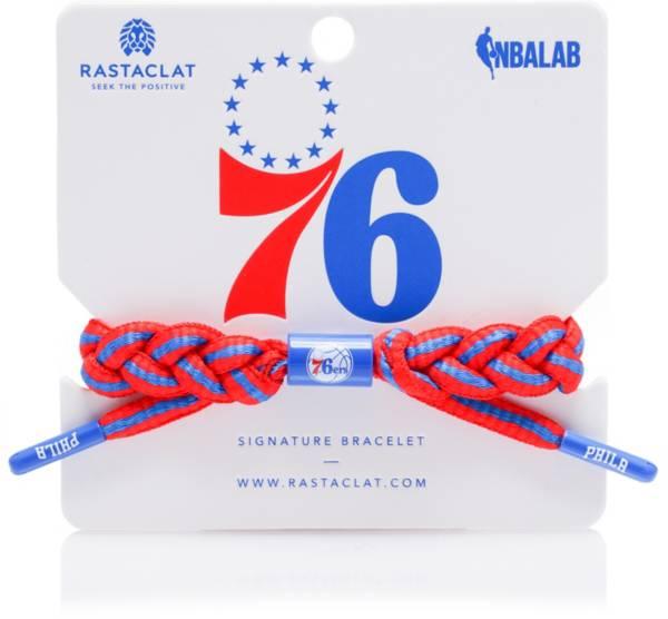 Rastaclat Philadelphia 76ers Home Braided Bracelet product image