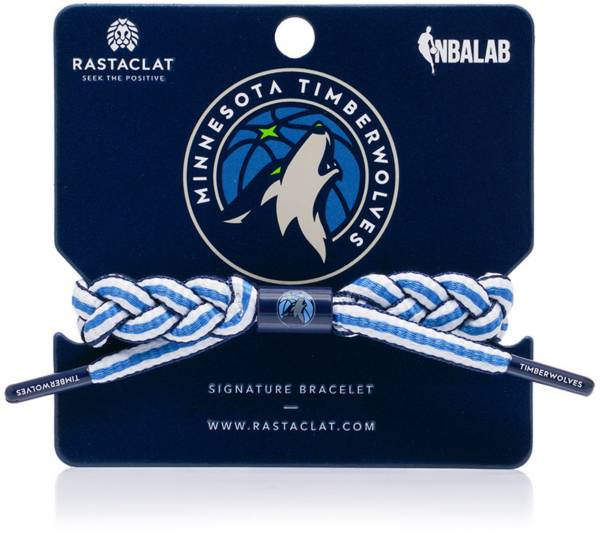 Rastaclat Minnesota Timberwolves Away Braided Bracelet product image