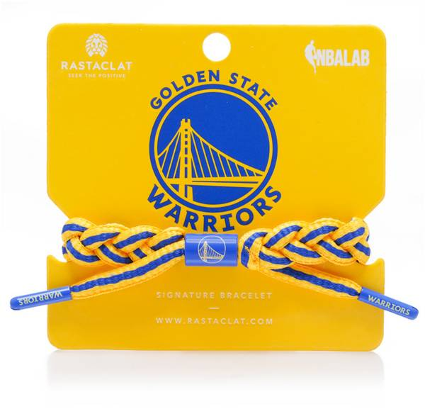 Rastaclat Golden State Warriors Home Braided Bracelet product image